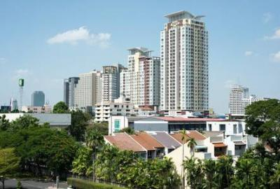 For RentCondoRatchathewi,Phayathai : [For Rent] The Complete Rajprarop 2 bedrooms, 2 bathrooms , 55 sq.m. Ready To Move In