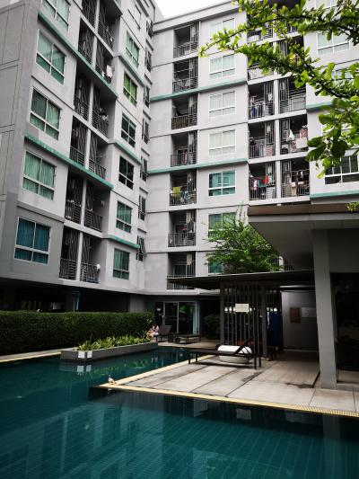 For SaleCondoKasetsart, Ratchayothin : Urgent sale !! The Niche ID Condo Ladprao - Wang Hin 1 bed 35 sq. W. Fully furnished, near MRT Lat Phrao
