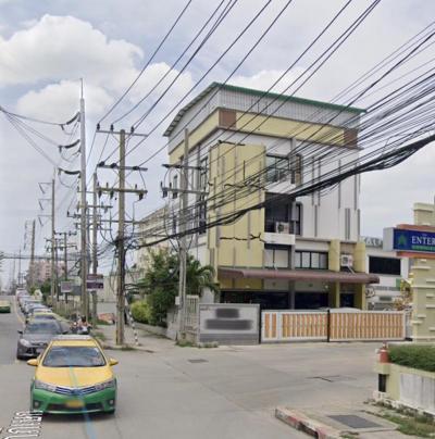 ขายสำนักงานลาดกระบัง สุวรรณภูมิ : ขาย อาคารสำนักงาน 5 ชั้น ติดถนนใหญ่ ใกล้ ตลาดเจโม อัญธานี 160 ตร.ว ถนนกาญจนาภิเษก 39