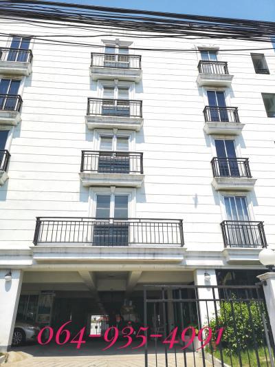 ขายขายเซ้งกิจการ (โรงแรม หอพัก อพาร์ตเมนต์)อ่อนนุช อุดมสุข : ขายด่วน!! อพาร์ทเม้นท์ 6 ชั้น พร้อมลิฟท์ ย่านอ่อนนุช เนื้อที่ 247 ตรว. พร้อมเข้าดำเนินกิจการ ทำเลดี ใกล้  BTS อ่อนนุช / MRTสถานีศรีนุช