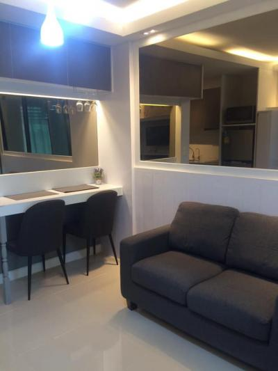 For SaleCondoOnnut, Udomsuk : M2408-Sale Condo A Space Me Sukhumvit 77, ready to move in