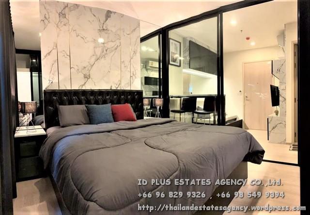 เช่าคอนโดพระราม 9 เพชรบุรีตัดใหม่ : Life Asoke Condo for rent : 1 bedroom for 30 sqm. south facing On 21st floor. With fully furnished and electrical appliances. Just 1 step to MRT Phetchaburi , 140 m. to BTS Asoke , 500 m. to ARL Makkasan. Discount rental