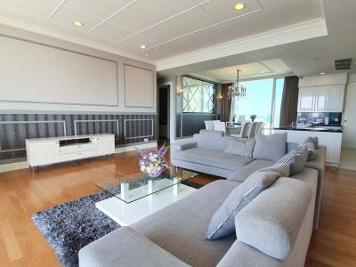 For RentCondoSukhumvit, Asoke, Thonglor : (Penthouse Styled) Royce Private Residences - Beautifully Furnished 4 Bedroom / High Floor / Ready To Move In With Stunning Unblocked Views
