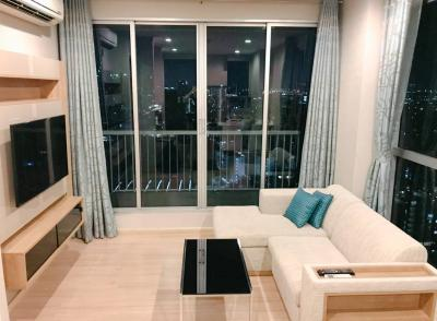 For RentCondoOnnut, Udomsuk : For Rent !!! Rhythm Sukhumvit 50, 1 Bed Corner room with luxury furniture at a special price