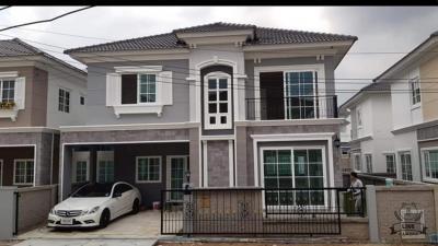 ขายบ้านดาวคะนอง บางบอน : ขายบ้านใหม่ ทำเลดีมาก Golden Neo สาทร กัลปพฤกษ์ ฮวงจุ้ยดี หน้าบ้านทิศเหนือ