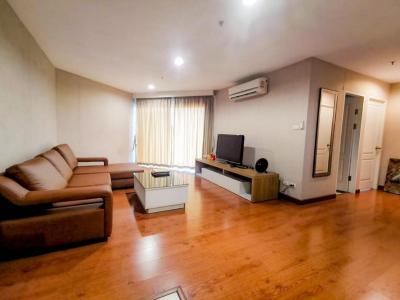 For RentCondoRama9, RCA, Petchaburi : For rent, Belle Grand Rama 9, high floor, good view