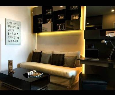 For SaleCondoOnnut, Udomsuk : For Sale The Room Sukhumvit 69 (35 sqm.)