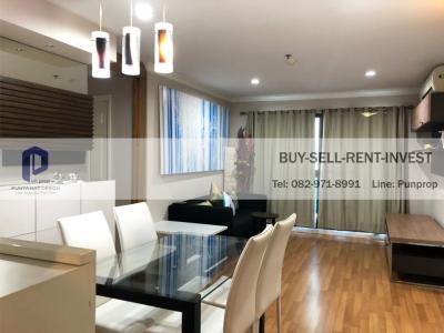 For SaleCondoRama3 (Riverside),Satupadit : Room for sale @ Lumpini Place Narathiwat-Chaopraya, 2 bedrooms, 68 sqm., Next to Rama 3 road, city view, fully furnished, 4.6 million