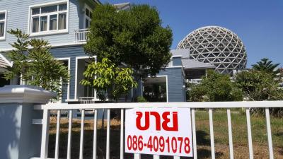 For SaleHouseRangsit, Patumtani : Sell‼ ️ Baan Kaew Puttharaksa Near Dhammakaya Temple