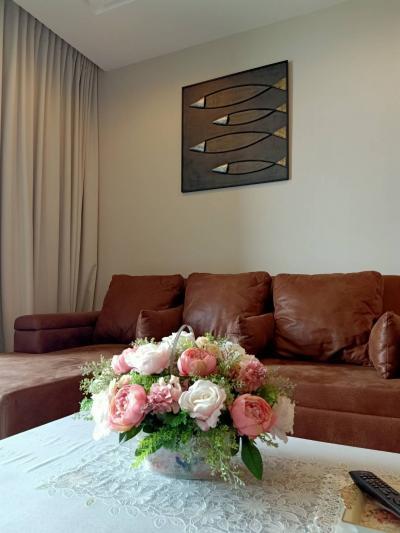 For RentCondoBang Sue, Wong Sawang : For Rent 333 Riverside 1 Bedroom Condo, Beautifully Decorated 21000