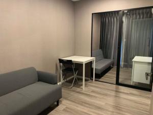 For RentCondoSapankwai,Jatujak : For rent 1 bedroom plus 35 sqm., Notting Hill Condo. Chatuchak-Interchange (real room picture) near BTS Mo Chit-Saphan Khwai
