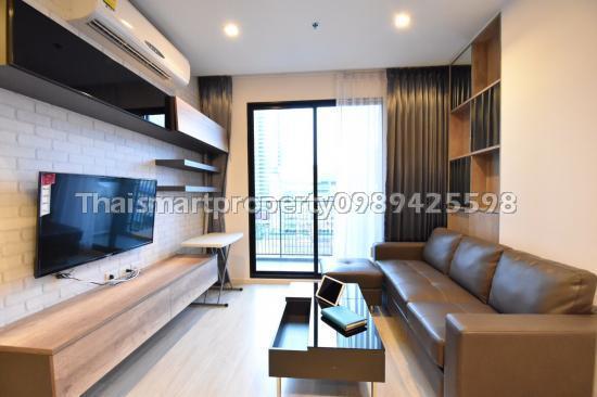 For RentCondoRatchadapisek, Huaikwang, Suttisan : For rent Quinn Condo 2 bedrooms 2 bathrooms