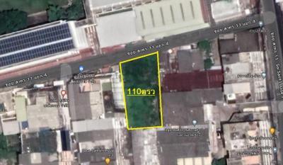 For SaleLandSathorn, Narathiwat : Land for sale 110 sqw, Soi Sathorn 11, 4 separate