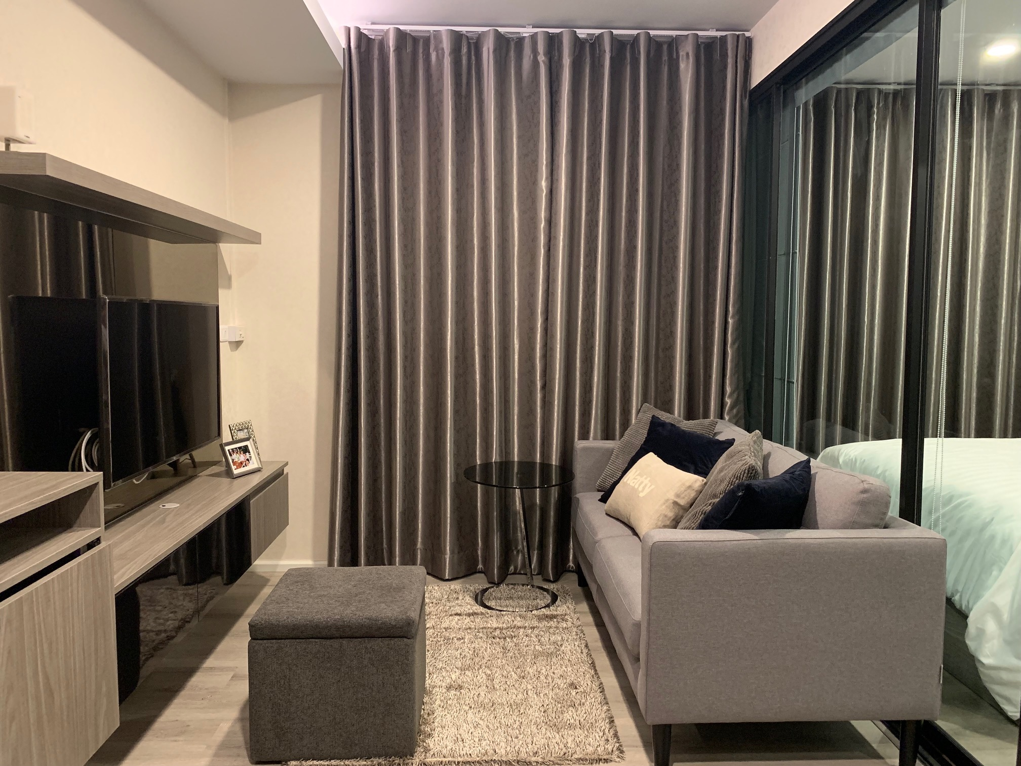 For RentCondoBangna, Lasalle, Bearing : Condo for Rent 3 mins from bts bearing station!