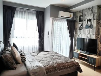 เช่าคอนโดพระราม 9 เพชรบุรีตัดใหม่ : For Rent Ideo New Rama 9 (26 sqm.)