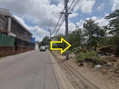 ขายที่ดินลาดกระบัง สุวรรณภูมิ : ขายที่ดิน หลังพาราไดซ์ พาร์ค ศรีนครินทร์ ถนนเฉลิมพระเกียรติ ร.9 ซอย 7 บนเนื้อที่เกือบ 4 ไร่ ทำเลทอง