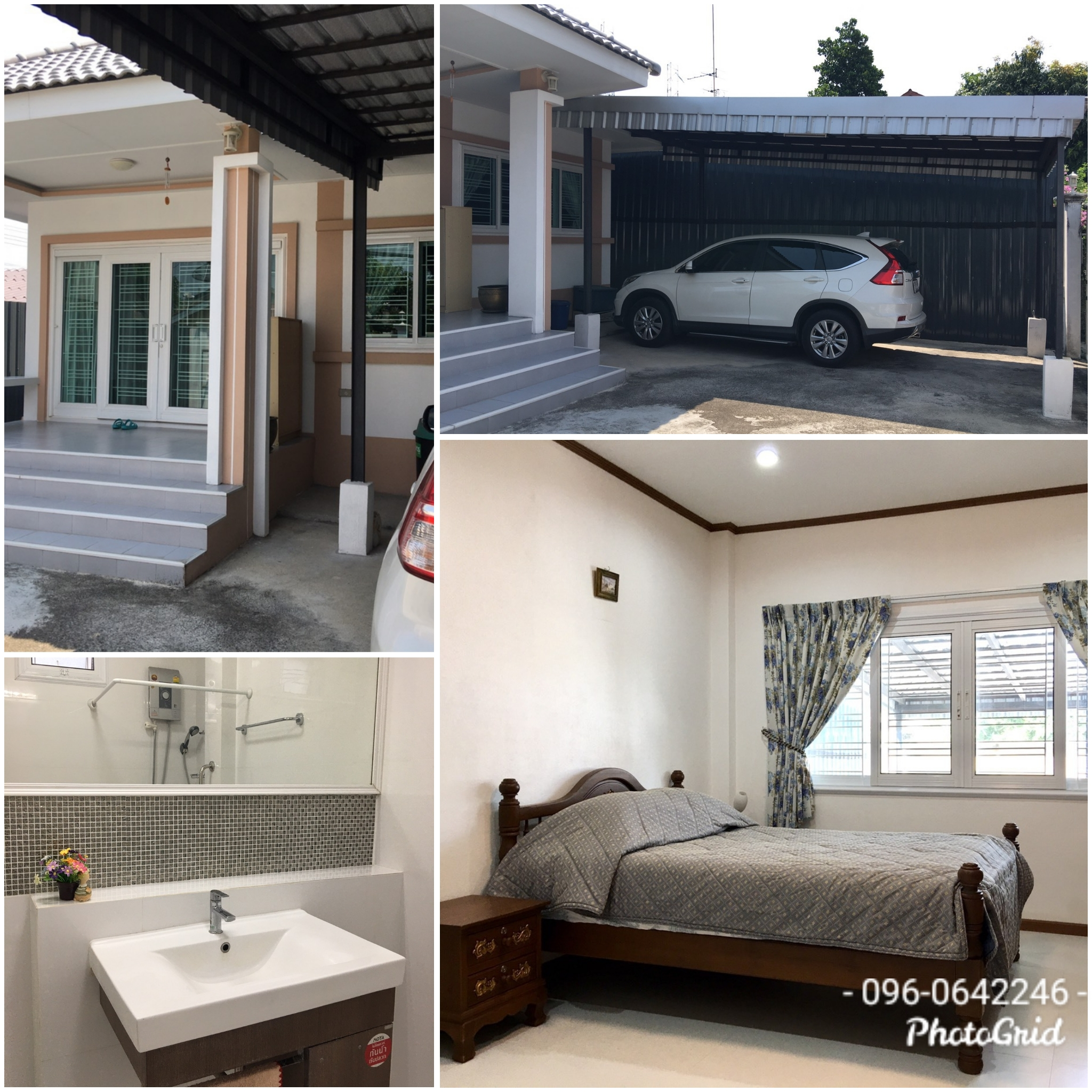 For SaleHouseRamkhamhaeng Nida, Seri Thai : House for sale # 50 sq. W. M. Sammakorn 1, Ramkhamhaeng Road, Soi 110, Saphan Sung District, Bangkok, near Prep School