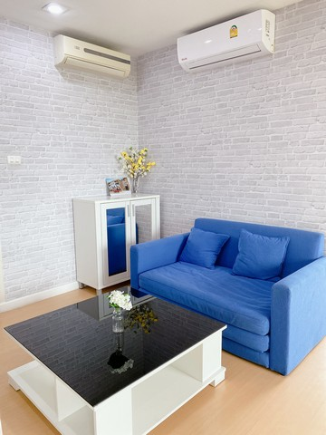 For RentCondoBangna, Lasalle, Bearing : For rent: icondo Sukhumvit 105, 2 bedrooms, 48 square meters, ready to move in.