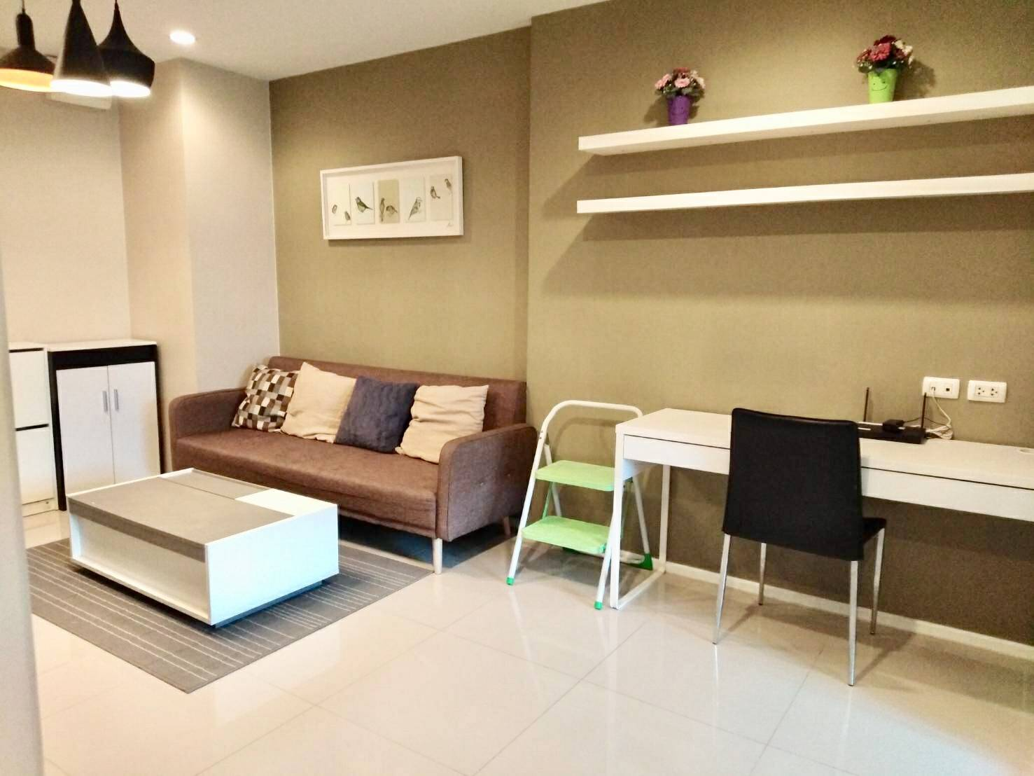 For SaleCondoRama9, RCA, Petchaburi : 2 bedrooms, Aspire Rama9, conveniently located only 400 meters to MRT Rama 9