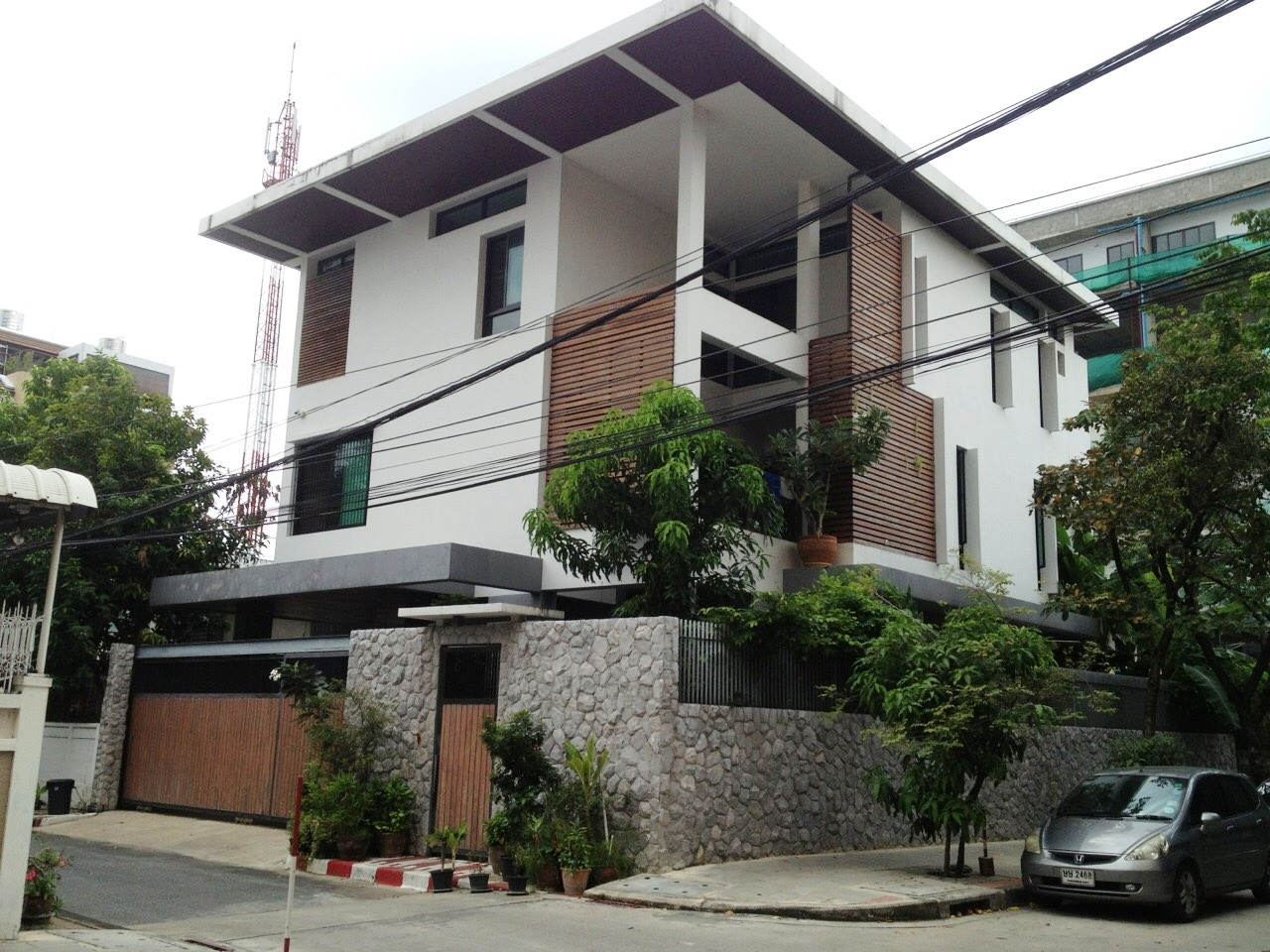 For SaleHouseSathorn, Narathiwat : House for sale, 510 square meters of land, Narathiwatratchanakharin Road