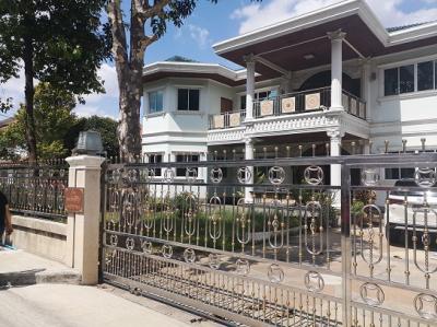 ขายบ้านวิภาวดี ดอนเมือง : ขายบ้านเดี่ยว หลังใหญ่มาก หมู่บ้านสีวลี ใกล้ตลาดสี่มุมเมือง ถนนพหลโยธิน-วิภาวดีรังสิต เข้าซอยมาเพียง 100 เมตร