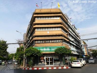 เช่าตึกแถว อาคารพาณิชย์เยาวราช บางลำพู : ให้เช่าอาคารพาณิชย์ 4ชั้นครึ่ง ย่านเยาราช ใกล้ MRTวัดมังกร ประตูไชน่าทาวน์ ติดวงเวียนประตูเฉลิมพระเกียรติ