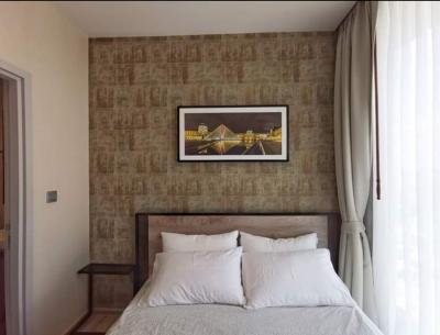 For RentCondoSapankwai,Jatujak : A1140 ++ RENT ++ The Line Chatuchak-Mochit, size 26.5 sqm., 31st floor, newly decorated, nice room * MRT Chatuchak