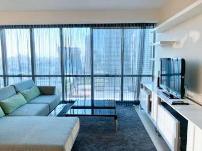 For RentCondoSukhumvit, Asoke, Thonglor : For Rent The Room Sukhumvit21  size 117 sqm duplex 2 bed 2 bath 20th floor fully furnished BTS Asoke