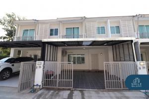 For RentTownhouseChiang Mai, Chiang Rai : For rent Pruksa Ville Village - Payap 3 bedrooms, 2 bedrooms, 2 parking spaces