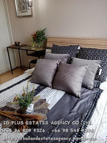 เช่าคอนโดปิ่นเกล้า จรัญสนิทวงศ์ : Condo for rent : Plum condo Pinklao : 1 Bedrooms size 26 sq.m. on 4th floor.With fully furnished and electrical appliances with washing machine.Just 600 m. to MRT Bangyikhan. Rental only 10,500 / M.