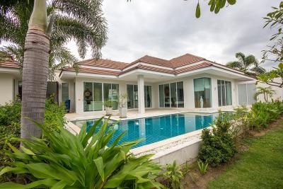 เช่าบ้านหัวหิน ประจวบคีรีขันธ์ : Well Designed 3 Beds pool Villa in Hua Hin