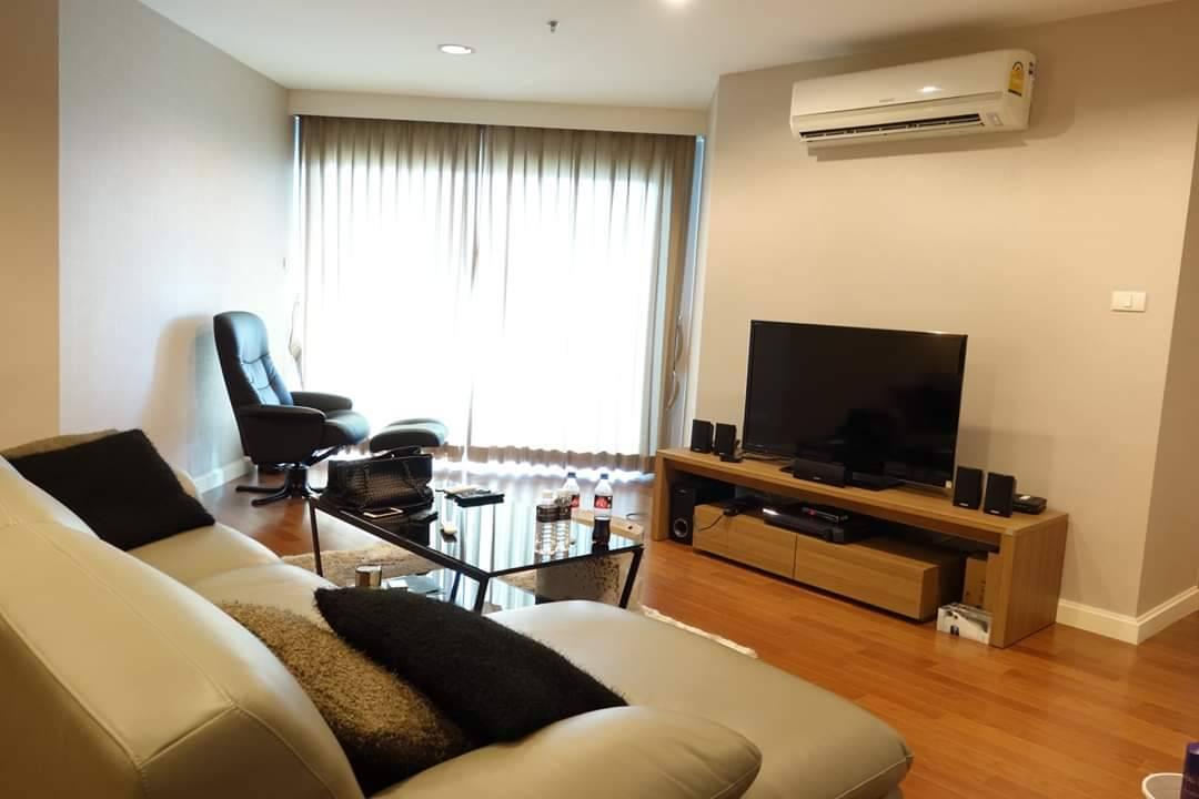 เช่าคอนโดพระราม 9 เพชรบุรีตัดใหม่ : FOR RENT Belle Grand Rama 9 Size 101 sqm. 3 Bedrooms เบลล์ แกรนด์ 3 ห้องนอน