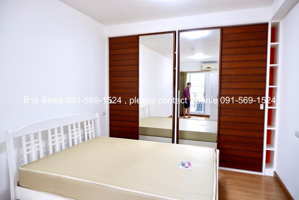 For RentCondoKasetsart, Ratchayothin : <<Room for rent >>Condo Supalai Park Kaset . Building  A, 3  Floor  , fully furnished , nice view and quiet place.