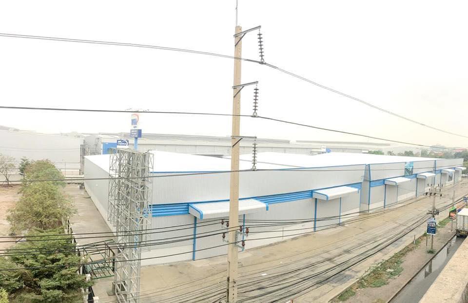 เช่าโกดังสำโรง สมุทรปราการ : คลังสินค้าให้เช่า ทำเลศักยภาพ ติดถนนบางนา-ตราด กม.18 ใกล้สนามบินสุวรรณภูมิ