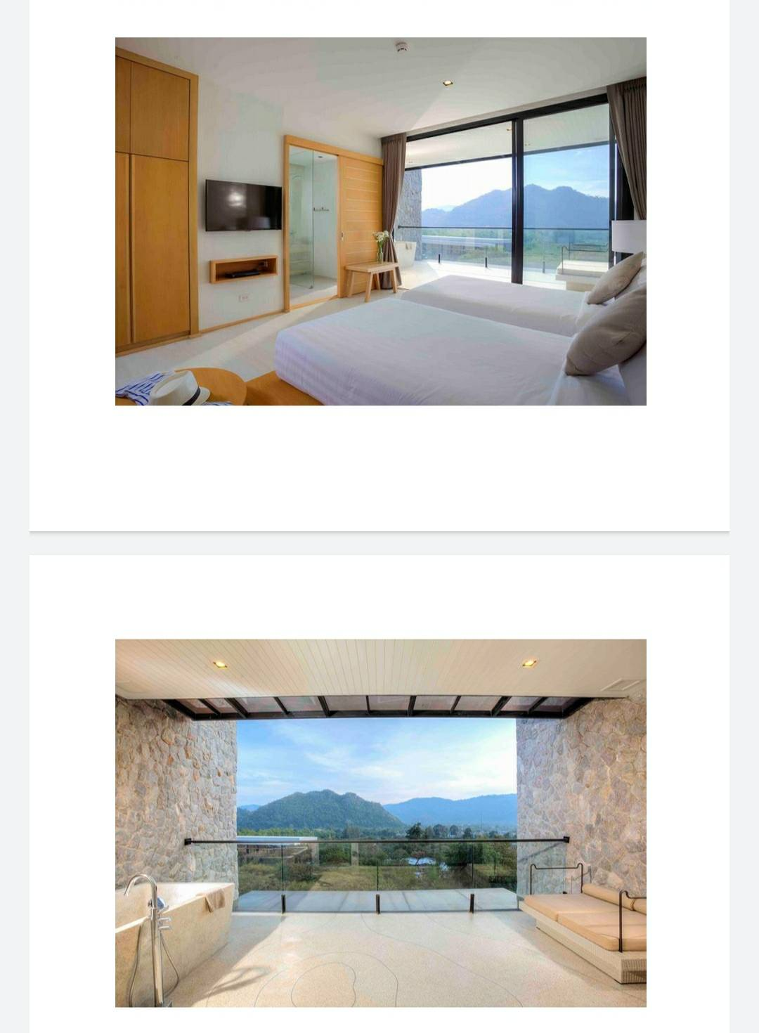 For SaleCondoKorat KhaoYai : For sale condos Botanice Kao Yai (vacation home) size 49.76 sqm Mountain view