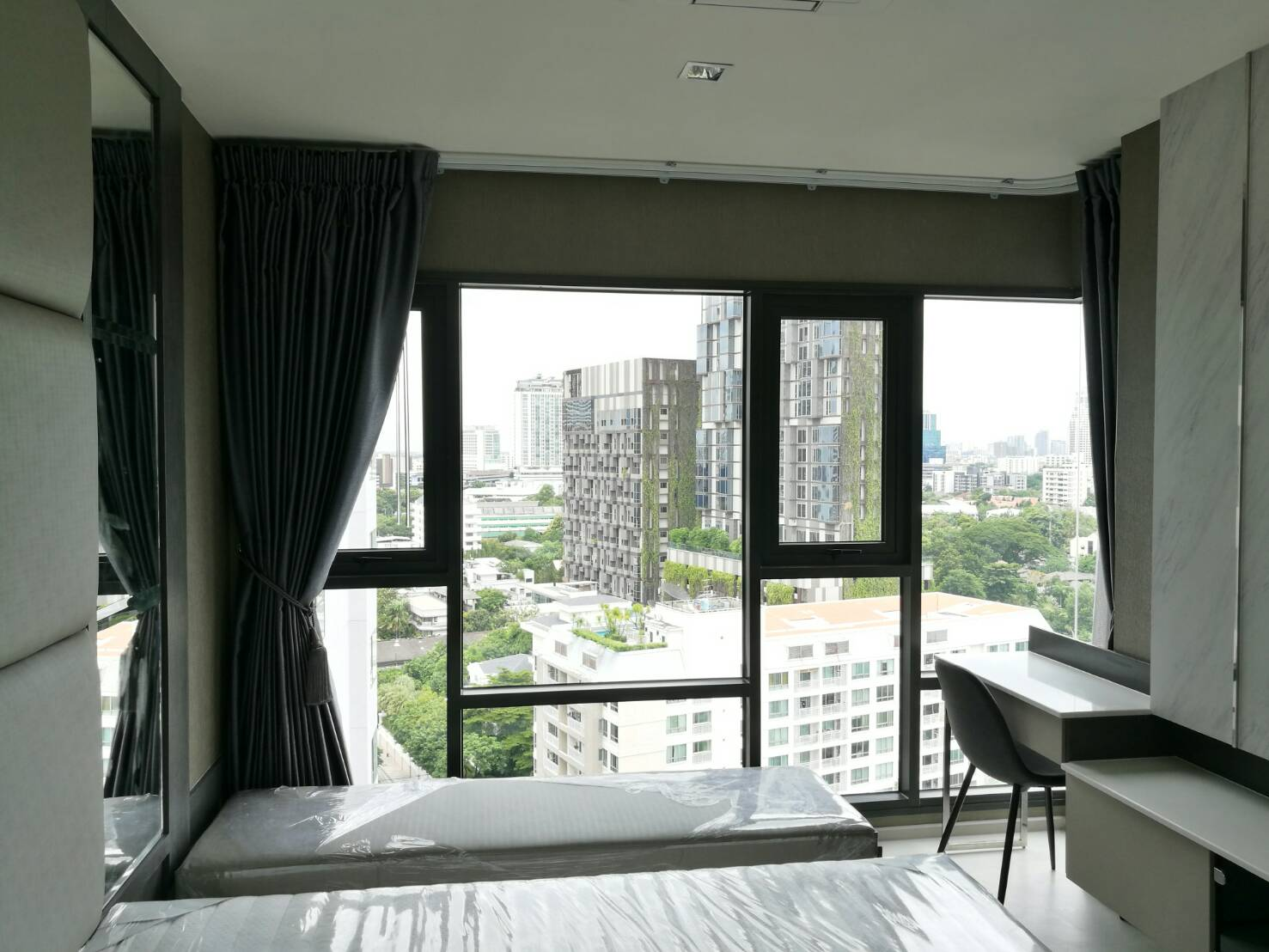 For SaleCondoSukhumvit, Asoke, Thonglor : Condo for sale RHYTHM Sukhumvit 36-38 size 58.4 sqm 2bed2bath 14th fl. BTS Thonglor