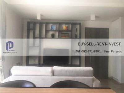 เช่าคอนโดวิทยุ ชิดลม หลังสวน : Condo For Rent @ Maestro 02 Soi. Ruamrudee 2 Fully Furnished 2 br. 6th fl. 45, 000 Baht/Month
