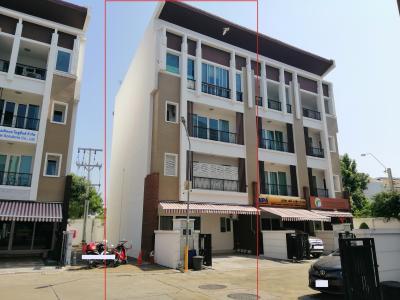 For RentTownhouseRathburana, Suksawat : ฺ For rent BIZTOWN / BizTown 4-story townhome, 7.5 meters wide, on the main road Opposite Big C Suksawat