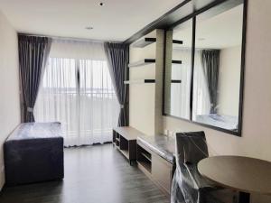For RentCondoSamrong, Samut Prakan : Condo for rent at The Trust Erawan, very beautiful view, ready to move in * Washing machine *