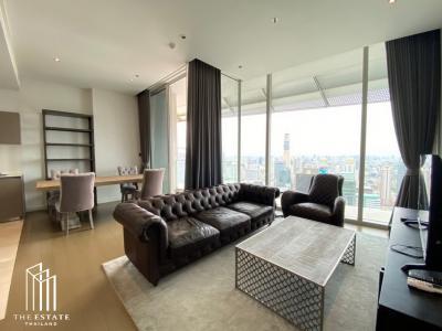 เช่าคอนโดวิทยุ ชิดลม หลังสวน : ชั้นสูง 40+ ทิศเหนือ วิวดี แต่งสวย *Magnolias Ratchadamri Boulevard @ุ85,000 Baht