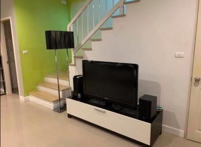 For RentTownhouseKaset Nawamin,Ladplakao : For Rent 3 Bedroom Townhouse in Town Plus Kaset-Navamin,