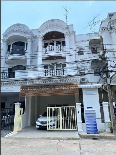 For RentTownhouseAri,Anusaowaree : RT394 4-storey townhome for rent, Ratchakru Residences Project, Soi Phahon Yothin 5, BigC Saphan Khwai