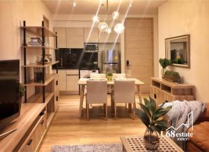 For SaleCondoSukhumvit, Asoke, Thonglor : For Sale, Park 24 Condo with 2-year contract tenant (-Feb 2022), Sukhumvit 24, Near BTS Phrom Phong
