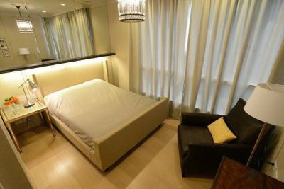 For RentCondoSukhumvit, Asoke, Thonglor : For Rent HQ Thonglor size 46 sqm 1 bed 1 bath fully furnished Near BTS Thong Lor