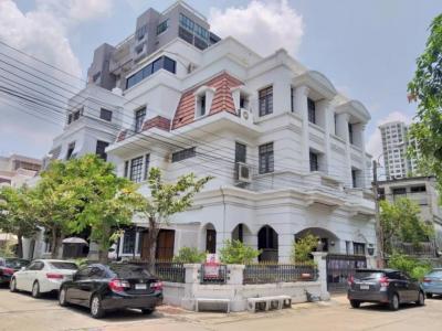 For SaleHousePinklao, Charansanitwong : 4-story house for sale near Central Pinklao, Boromarajonani Road, Tharinee Mansion, 76 sq.wa., 7 bedrooms