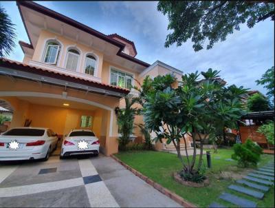For RentHouseBang kae, Phetkasem : RH338 House for rent, Narasiri Village, Sathorn - Ring Road 105 square wah, 3 bedrooms, 4 bathrooms.