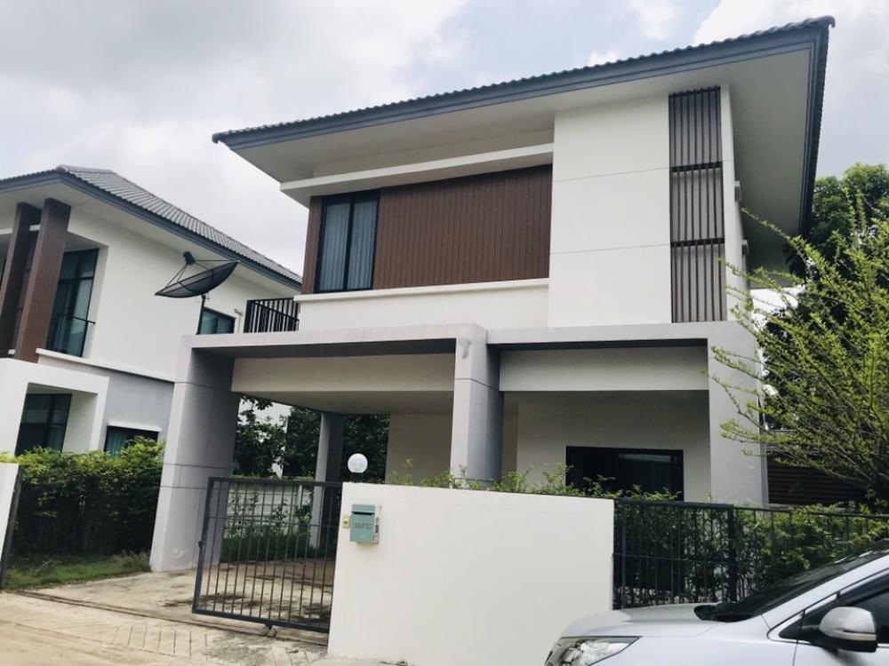For SaleHouseKhon Kaen : K822 2 storey detached house for rent in Lake Nakara Village, Khon Kaen. New house, currently the owner is in Bangkok. Therefore selling the landlord to be Xinsae Look at the home feng shui. Already out for sure
