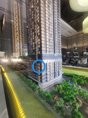 ขายดาวน์คอนโดพระราม 9 เพชรบุรีตัดใหม่ : ขายห้องโครงการ One9Five ห้อง 507  ห้อง 2 นอน, 2 น้ำ ชั้น 05 ขนาด 55 ตร.ม. ตำแหน่ง 07 type C ตึก A