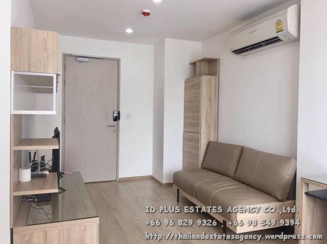 เช่าคอนโดสยาม จุฬา สามย่าน : Ideo Q Chula - Samyan Condo for rent : Studio 29 sqm. South facing On 16th floor.With fully furnished and electrical appliances. Just 350 m. to MRT Samyan , 400 m. to Chulalongkorn University. Discount rental only for