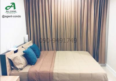 For RentCondoOnnut, Udomsuk : Condo for Rent The Sky Sukhumvit Cheapest room near BTS Udom Suk